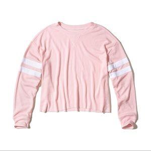 Oversized Waffle Shirt pink